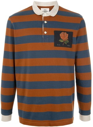 Kent & Curwen Block Stripe Rugby Shirt