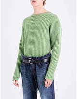 The Elder Statesman Ribbed cashmere jumper