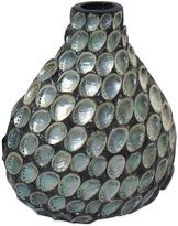 Bed Bath & Beyond Abalone Shell Ceramic Vase
