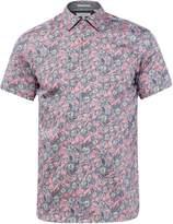 Ted Baker Men's Terrier Floral Print Cotton Shirt