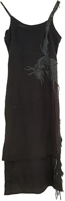 MHI Anthracite Cotton Dress for Women Vintage