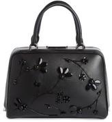 Simone Rocha Embellished Satchel - Black