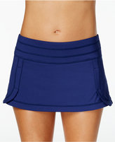 Jag Seamed Mini Swim Skirt