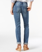 INC International Concepts Petite Distressed Cropped Boyfriend Jeans, Created for Macy's