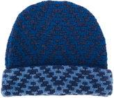 Etro pattern knit beanie