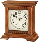 Seiko Traditional Classics Desk Clock With ChimeBrown Qxj028blh