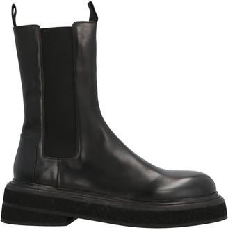 Marsèll Round-Toe Chelsea Boots