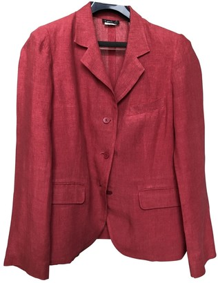 agnès b. \N Red Linen Jacket for Women