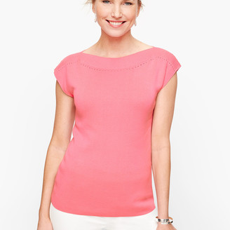 Talbots Cap Sleeve Sweater