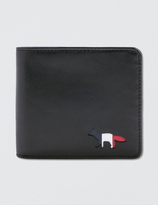 MAISON KITSUNÉ Tricolor Men Wallet