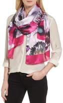 Ted Baker Neon Poppy Long Silk Scarf