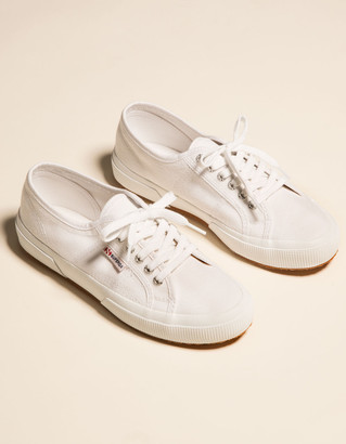 Superga 2750 Cotu Classic White Womens Shoes