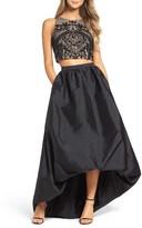 Adrianna Papell Women's Two-Piece Ballgown