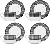 Eichholtz Bergdorf Teacup & Saucer - Set Of 4