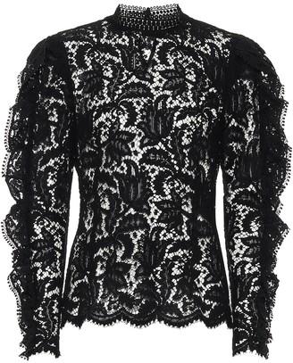 Isabel Marant Tory lace blouse