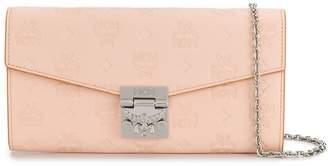 MCM Embossed Wallet Bag