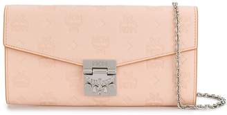 MCM embossed wallet bag