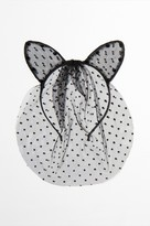 Dynamite Cat Ears Headband with Veil