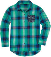 Arizona Girls Long Sleeve Button-Front Shirt - Girls 7-16 and Plus