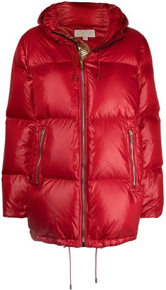 MICHAEL Michael Kors Quilted Padded Hooded Jacket