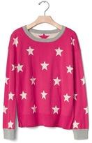 Gap Intarsia starry sweater