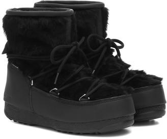 Moon Boot Monaco Low WP 2 fur snow boots