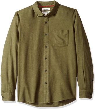 Goodthreads Standard-fit Long-Sleeve Plaid Brushed Shirt