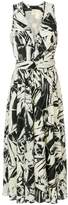 Proenza Schouler printed midi dress