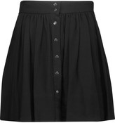 IRO Elia pleated cady mini skirt