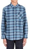 Volcom Boy's 'Gaines' Woven Plaid Shirt