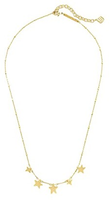 Kendra Scott Jae Star Choker Necklace (Gold Metal) Necklace