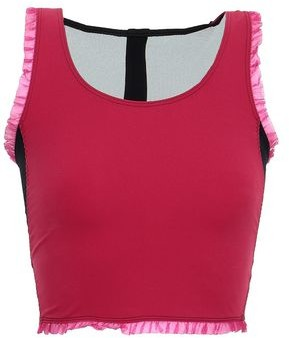 Sàpopa Sapopa Mesh-paneled Cutout Stretch Sports Bra