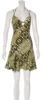 Just Cavalli Sleeveless Printed Dress