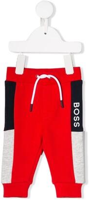 Boss Kids Colour Block Track Pants