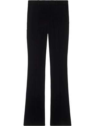 Gucci Stretch viscose skinny flare pant