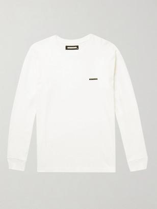 Neighborhood Logo-Detailed Cotton-Jersey T-Shirt