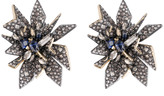 Alexis Bittar Two-Tone Perennial Punk Button Clip Earring