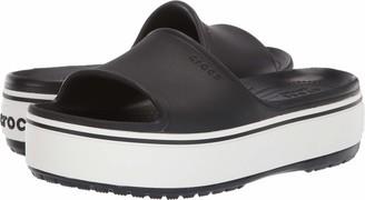 Croc Platform Slide Sandal
