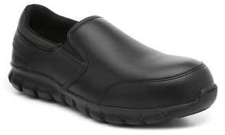 Reebok Sublite Cushion Steel Toe Slip-On Work Shoe