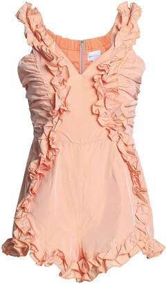 Alice McCall Stuck On You Ruffled Shell Playsuit