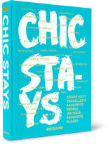 Assouline Chic Stays Hardcover Book - Blue