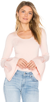 Elizabeth and James Willow Bell Sleeved Top