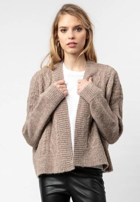 Religion Society Cardigan Taupe - 10