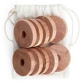 Arket Iris Hantverk Cedar Wood Rings