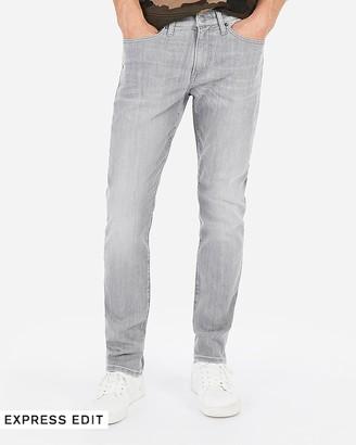 Express Slim Gray Hyper Stretch Jeans