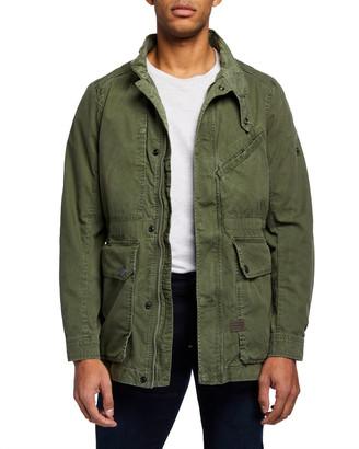 G Star Men's Rovic Field Jacket w/ Back Pocket
