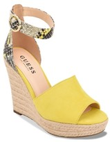 GUESS Still Espadrille Wedge Sandal