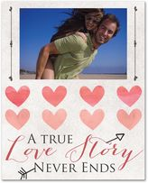 True Love Story Canvas Wall Art