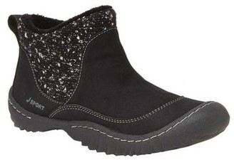 Jambu Jsport by Women's Marcy Sweater Ankle Booties