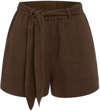 Peony Swimwear Belted Short